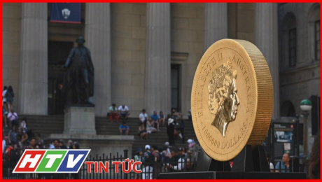 Xem Clip Đồng Tiền Vàng Nặng Nhất Thế Giới Trưng Bày Tại New York HD Online.