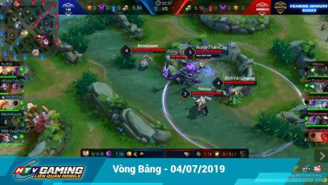 Xem Show LIVE EVENTS Vgaming - Liên Quân Mobile Vòng bảng -  04/07/2019 HD Online.
