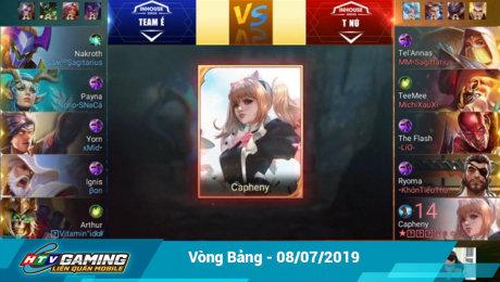 Xem Show LIVE EVENTS Vgaming - Liên Quân Mobile Vòng bảng -  08/07/2019 HD Online.