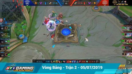Xem Show LIVE EVENTS Vgaming - Liên Quân Mobile Vòng bảng - Trận 2 - 05/07/2019 HD Online.