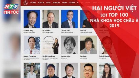 Hai Người Việt Lọt Top 100 Nhà Khoa Học Châu Á 2019