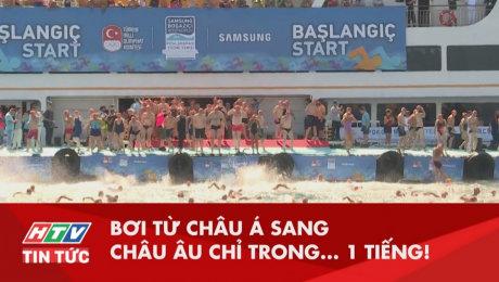 Xem Clip Bơi Từ Châu Á Sang Châu Âu Chỉ Trong 1 Tiếng HD Online.