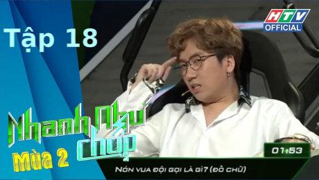 Xem Show TV SHOW Nhanh Như Chớp - Mùa 2 Tập 18 : Một lần nữa, Quang Đại làm rạng danh gia tộc HD Online.