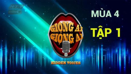 Xem Show TV SHOW Giọng Ải Giọng Ai Mùa 4 Tập 01 : Chi Dân ngây ngô, loại sạch giọng hát hay HD Online.