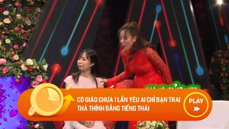 Xem Show CLIP HÀI Cô giáo chưa 1 lần yêu ai chỉ bạn trai thả thính bằng tiếng Thái HD Online.