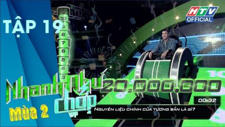 Xem Show TV SHOW Nhanh Như Chớp - Mùa 2 Tập 19 : Fanny được Trường Giang đưa câu hỏi nhưng không dám xem HD Online.