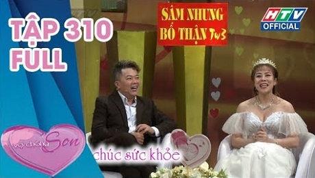 Xem Show TV SHOW Vợ Chồng Son Tập 310 : Hoàng Mèo - Đại Ngọc Trâm: Một ngày hôn 12 lần mà không có cảm giác HD Online.