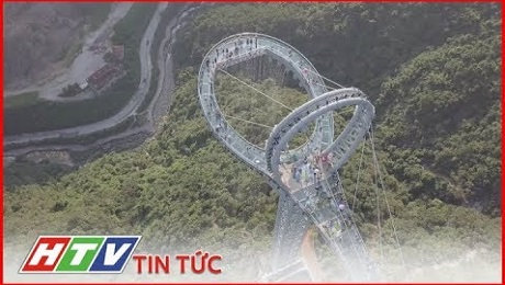 Xem Clip Trung Quốc : Độc Đáo Cây Cầu Kính Hình Vợt Tennis HD Online.