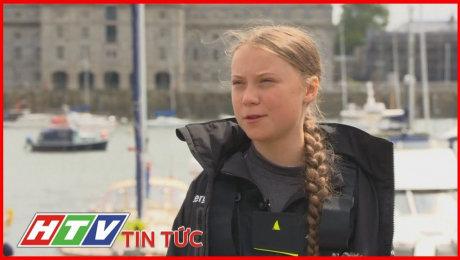 16 Tuổi Đi Thuyền Vượt Đại Tây Dương Để Dự Hội Nghị Về Môi Trường