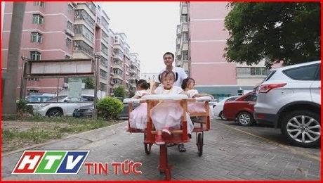 Xem Clip Trung Quốc : Ông Bố Bỉm Sữa Trổ Tài Chế Tạo Xe Đẩy Trẻ Em HD Online.