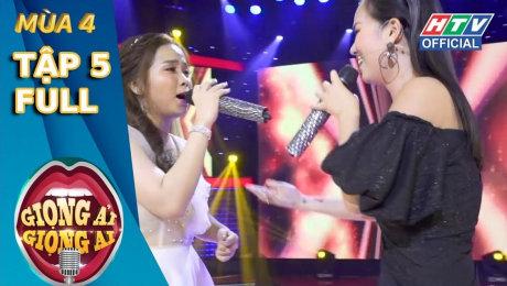 Xem Show TV SHOW Giọng Ải Giọng Ai Mùa 4 Tập 05 : Trấn Thành ra rìa vì độ hợp ý của Kay Trần và Quang Trung HD Online.