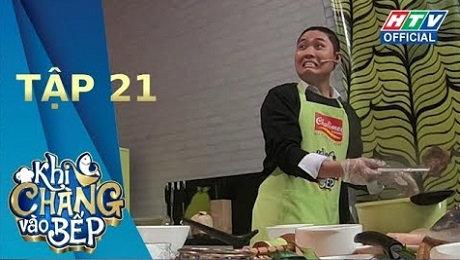 Xem Show TV SHOW Khi Chàng Vào Bếp Mùa 2 Tập 21 : Gil Lê có lấy thế mạnh để áp đảo Ngọc Thảo HD Online.