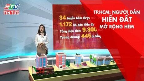 Xem Clip TPHCM: Người Dân Hiến Đất Mở Rộng Hẻm HD Online.