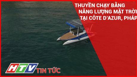 Thuyền Chạy Bằng Năng Lượng Mặt Trời Tại Côte Dazur, Pháp