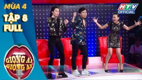 Xem Show TV SHOW Giọng Ải Giọng Ai Mùa 4 Tập 08 : Thành-Giang bái phục độ chịu chơi của Thu Minh, Lam Trường HD Online.