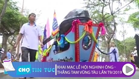 Khai mạc Lễ hội nghinh Ông – Thắng Tam Vũng tàu lần thứ 9 – 2019