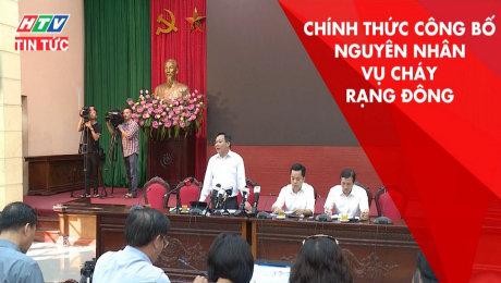 Hà Nội Chính Thức Công Bố Nguyên Nhân Vụ Cháy Rạng Đông