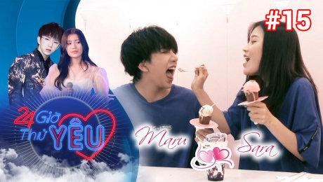 Xem Show TV SHOW 24h Thử Yêu Tập 15 : Tùng MARU thả thính bất chấp với cô nàng cá tính HAN SARA HD Online.