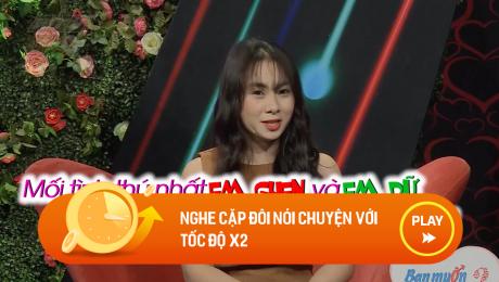 Xem Show CLIP HÀI Nghe cặp đôi nói chuyện với tốc độ x2 HD Online.