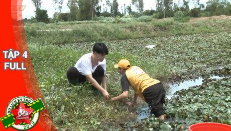Xem Show TV SHOW Lữ Khách 24h 2019 Tập 04 : Đào Bá Lôc - Dương Thanh Vàng khẩu chiến khi lặt củ ấu HD Online.