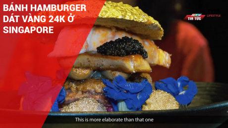 Bánh Hamburger Dát Vàng 24k Ở Singapore