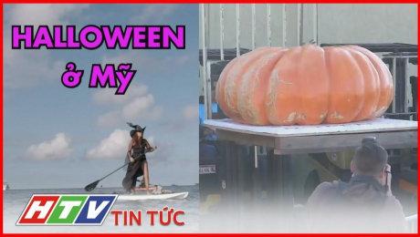 Halloween Ở Mỹ: Thi Vô Địch Bí Ngô, Xem Phù Thủy Chèo Xuồng