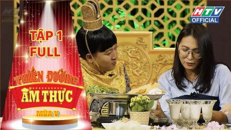 Xem Show TV SHOW Thiên Đường Ẩm Thực - Mùa 5 Tập 01 : Misthy, Jun Vũ, Andiez Nam Trương đổ bộ HD Online.