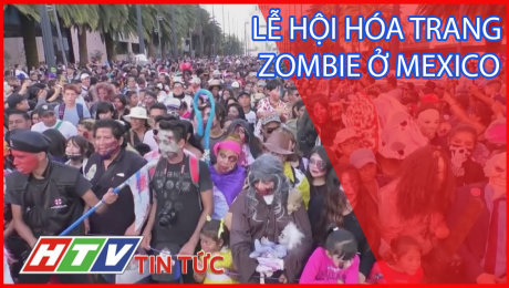 Lễ Hội Hóa Trang Zombie Ở Mexico