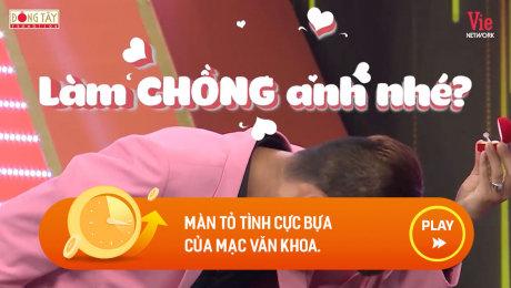 Xem Show CLIP HÀI màn tỏ tình cực bựa của mạc văn khoa. HD Online.