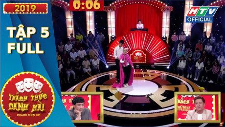 Xem Show TV SHOW Thách Thức Danh Hài 2019 Tập 05 : Hotboy Cà Mau khiến A Xìn khen nức nở HD Online.