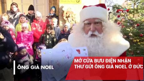 Mở Cửa Bưu Điện Nhận Thư Gửi Ông Già Noel Ở Đức