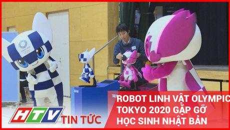 Robot Linh Vật Olympic Tokyo 2020 Gặp Gỡ Học Sinh Nhật Bản