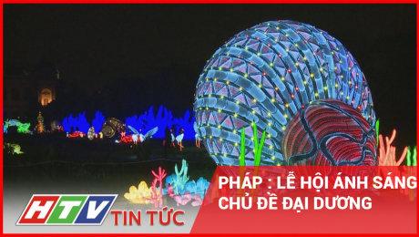 Pháp: Lễ Hội Ánh Sáng Chủ Đề Đại Dương