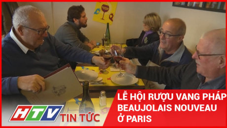 Lễ Hội Rượu Vang Pháp Beaujolais Nouveau Ở Paris