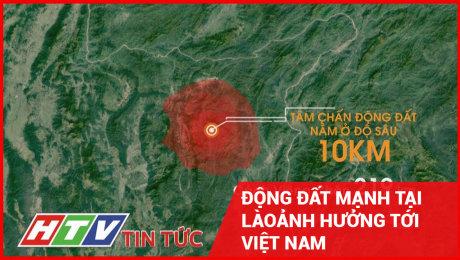 Động Đất Mạnh Tại Lào, Ảnh Hưởng Tới Việt Nam