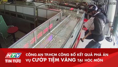 Công An TP.HCM Công Bố Kết Quả Phá Án Vụ Cướp Tiệm Vàng Hóc Môn