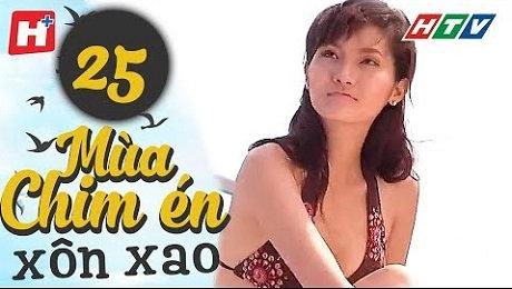 Xem Phim Tình Cảm - Gia Đình Mùa Chim Én Xôn Xao Tập 25 HD Online.