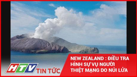 New Zealand: Điều Tra Hình Sự Vụ Người Thiệt Mạng Do Núi Lửa