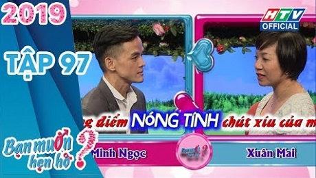 Xem Show TV SHOW Bạn Muốn Hẹn Hò Tập 97 : Nghe bạn trai thích NGỌC TRINH, bạn gái toát mồ hôi HD Online.