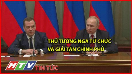 Thủ Tướng Nga Từ Chức Và Giải Tán Chính Phủ