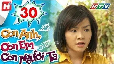 Xem Phim Tình Cảm - Gia Đình Con Anh Con Em Con Người Ta Tập 30 HD Online.