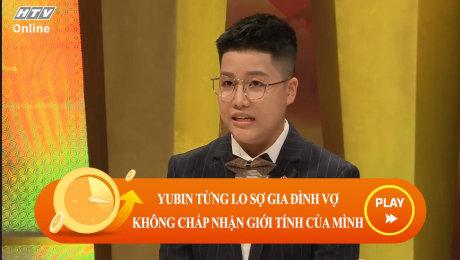 Xem Show CLIP HÀI Yunbin từng lo sợ gia đình vợ không chấp nhận giới tính của mình HD Online.