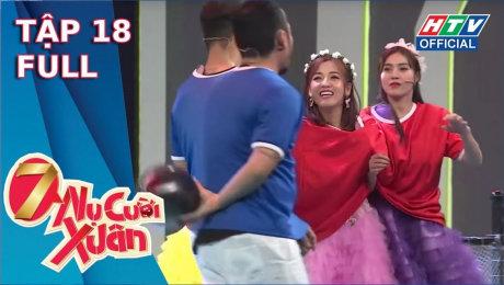 Xem Show TV SHOW 7 Nụ Cười Xuân Mùa 3 Tập 18 : Puka muốn bỏ về vì team thực lực trong sáng Lan Ngọc - Thúy Ngân HD Online.