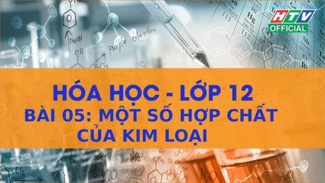 Xem Show VĂN HÓA - GIÁO DỤC Kết Nối Giờ Thứ 6 - Môn Hóa Lớp 12 Bài 05 : Một số hợp chất của kim loại HD Online.