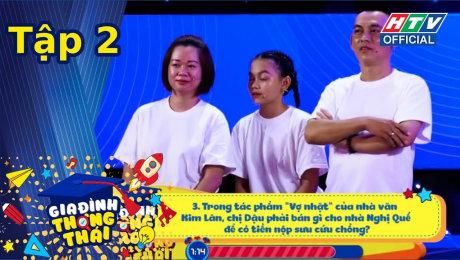 Xem Show TV SHOW Gia Đình Thông Thái Tập 02 : Hồ Bích Trâm không dùng IQ vẫn giúp em trai chiến thắng HD Online.