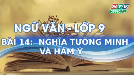 Xem Show VĂN HÓA - GIÁO DỤC Kết Nối Giờ Thứ 6 - Môn Văn Lớp 9 Bài 14 : Nghĩa tường minh và hàm ý HD Online.