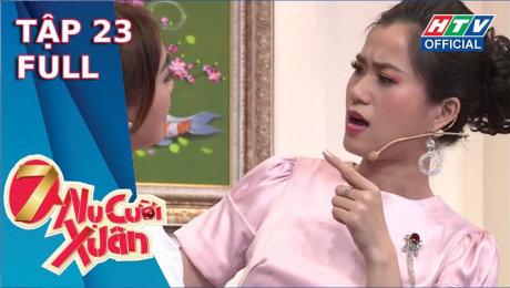 Xem Show TV SHOW 7 Nụ Cười Xuân Mùa 3 Tập 23 : Trường Giang 5 lần 7 lượt dập tắt ước mơ thi nhạc viện của Lan Ngọc HD Online.