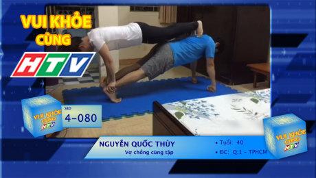 Xem Show TV SHOW LIVE EVENTS TRUYỀN HÌNH THỰC TẾ Vui Khỏe Cùng HTV SBD 4-080 : Nguyễn Quốc Thùy - Vợ chồng cùng tập HD Online.