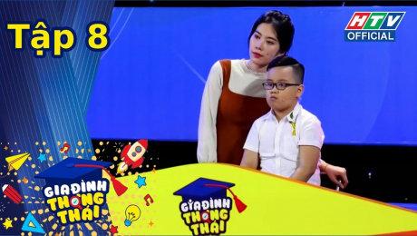 Xem Show TV SHOW Gia Đình Thông Thái Tập 08 : Ngô Kiến Huy tiết lộ yêu màu hồng, thích màu tím HD Online.