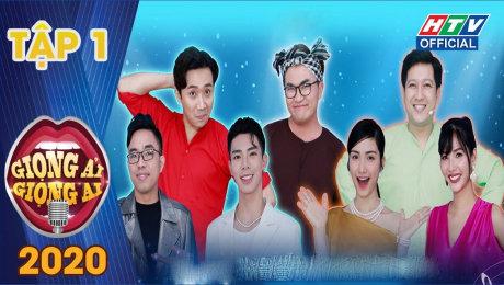 Xem Show TV SHOW Giọng Ải Giọng Ai Mùa 5 Tập 01 : Trấn Thành gài kèo nhưng Trường Giang ra tay giúp Hòa Minzy, Erik HD Online.